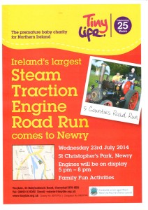 Steam Traction Engine Road Run @ Castlewellan to Newry