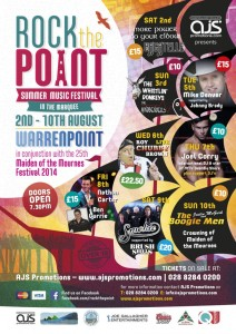 Rock the Point  @ Summer Music Festival | Warrenpoint | United Kingdom