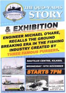 Quo-Vadis Story and Exhibition @ Kilkeel | United Kingdom