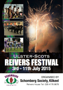 Ulster-Scots Reivers Festival @ Reivers House | Kilkeel | Northern Ireland | United Kingdom