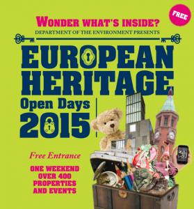 European Heritage Open Days @ Various