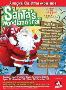 Santa's Woodland Trail @ Ardaluin House | Newcastle | United Kingdom