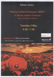 """Newry's Roll of Honour: WWI"" @ Kilkeel Library | Kilkeel | United Kingdom"